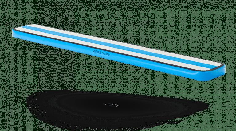 Inflatable balance beam blue