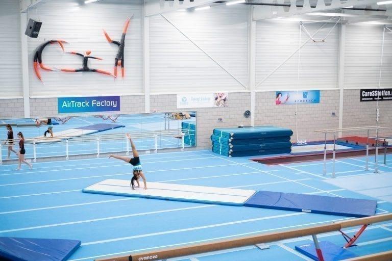 AirFloor Gymnastics roundoff backflip
