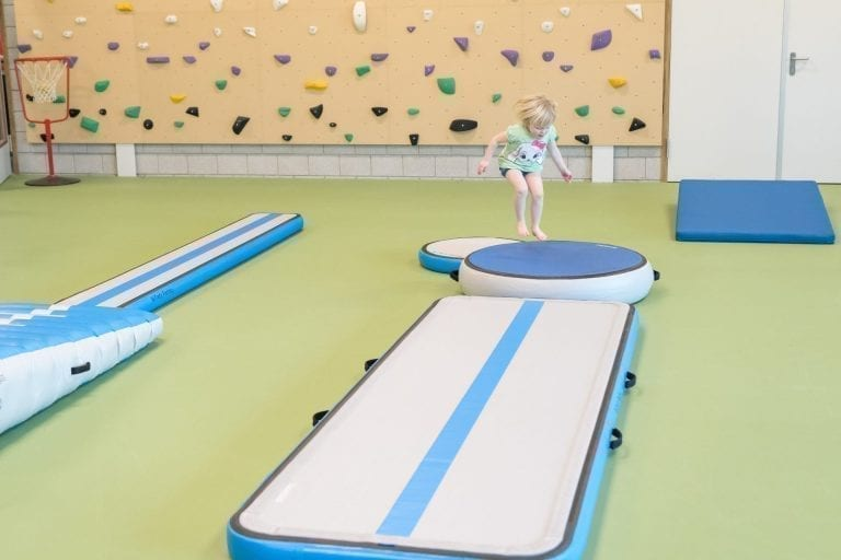 Kid jumping AirFloor