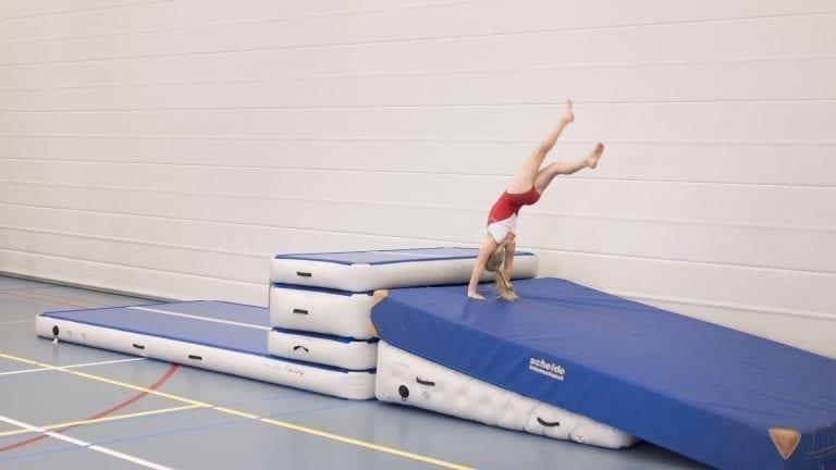 Air Triangle Gymnastics