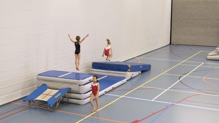 AirJump Set Gymnast jump incline mat