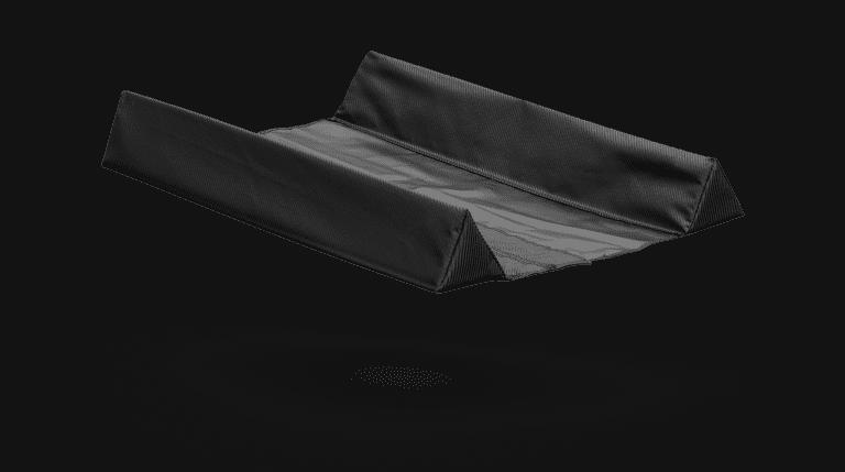 carbon airroll stabilizer