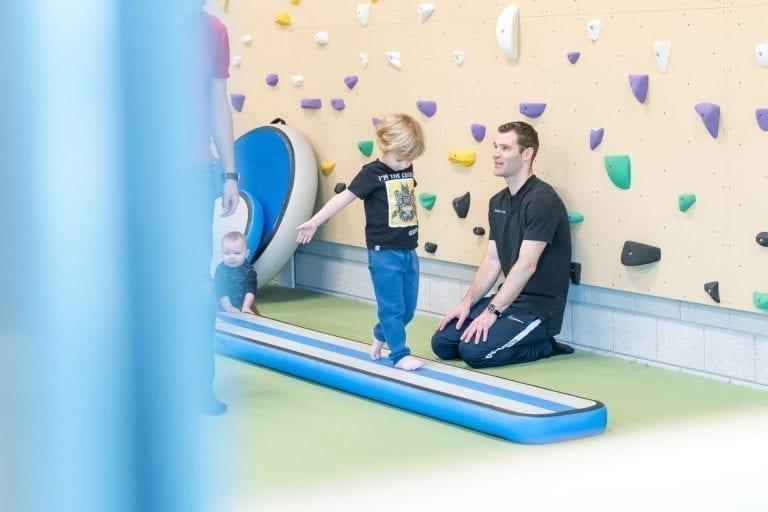 AirBeam Toddler training