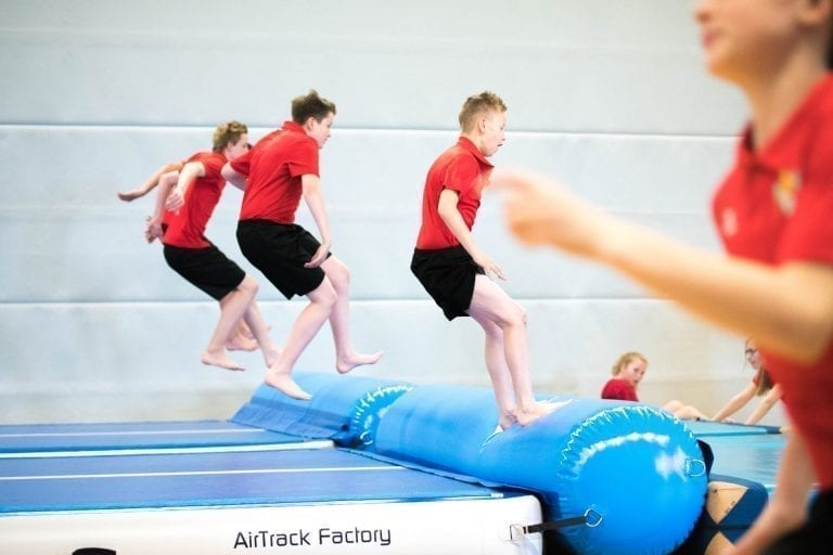 Jump Roll AirTrack