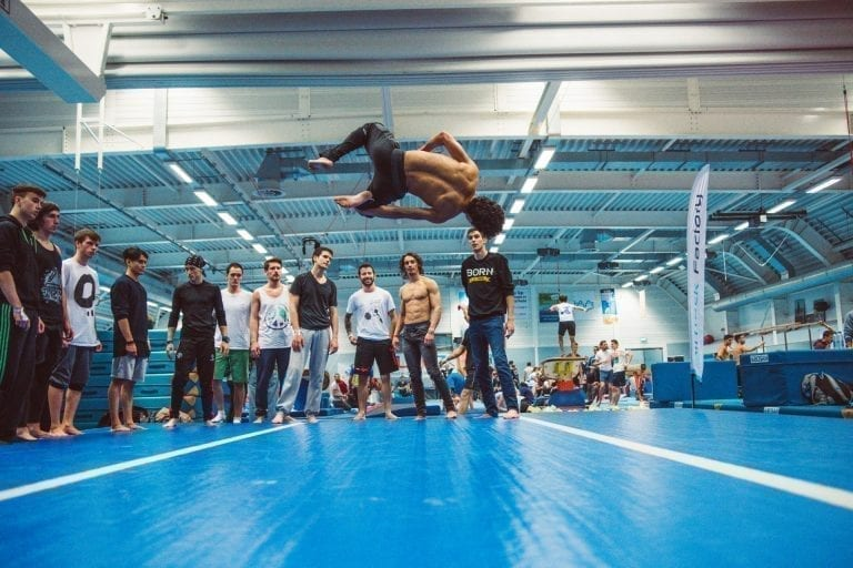 AirTrick Hooked Tricking Gathering AirTrack