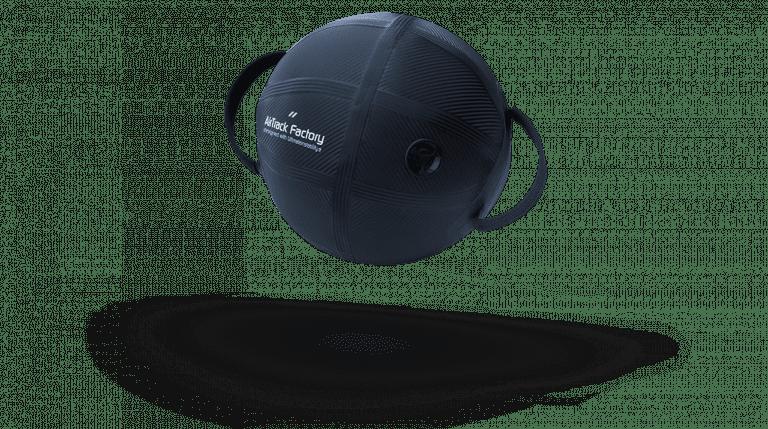 Carbon inflatable AquaBall