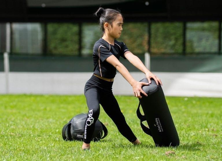 Bato Haarlem gymnastics AquaBag training