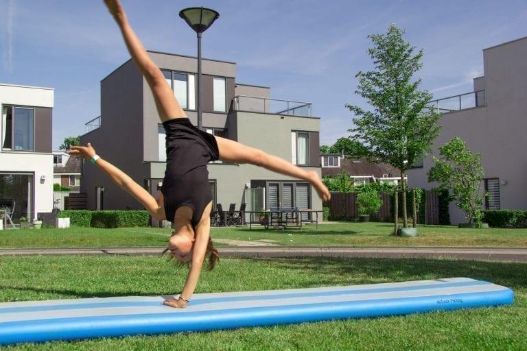 AirBeam home gymnastics
