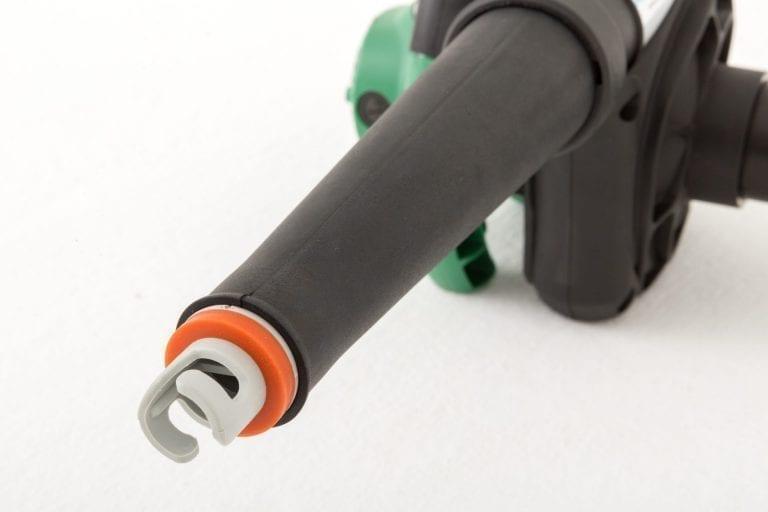 |Grey valve attachment on the Hikoki blower nozzle