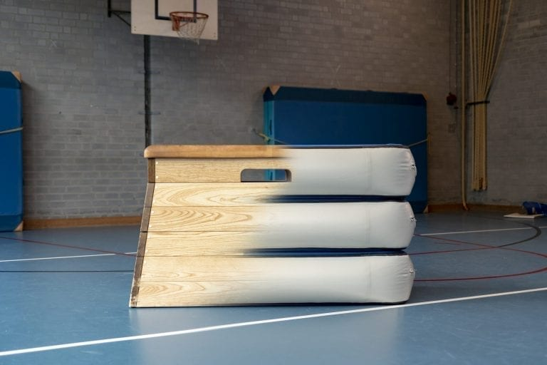 AirBox morphing in to traditional vaulting table