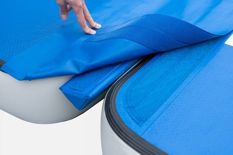 airpodium-inflatable connection foam velcro