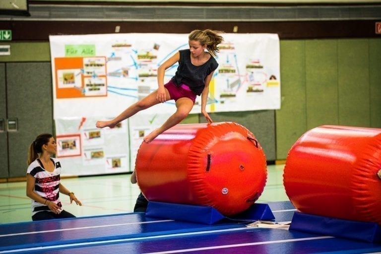 AirRoll Gymnastik