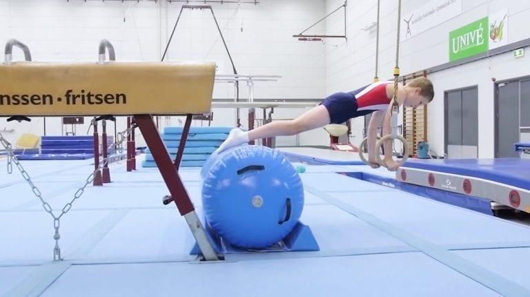 Gymnast AirRoll Rings