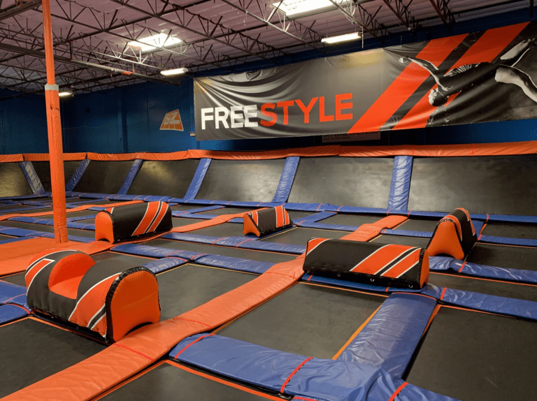 AirObstacles at Skyzone trampoline park